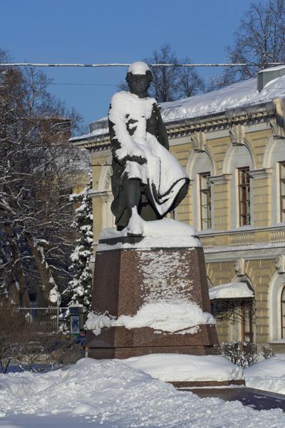 Санкт-Петербург. Памятник М.Ломоносову. Фото: Лора Ларсиа/Великая Эпоха/The Epoch Times