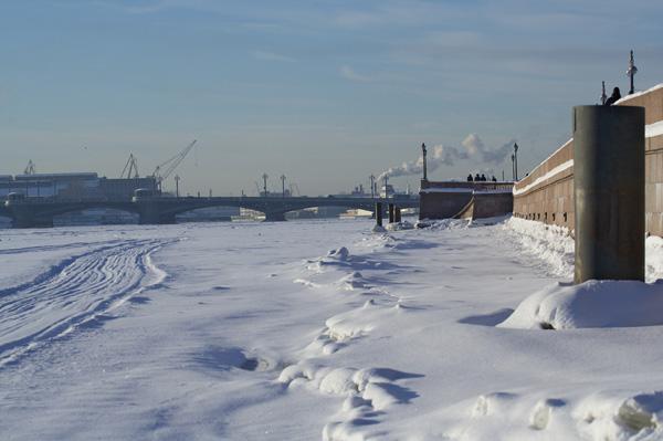 Санкт-Петербург. Настоящая зима. Фото: Лора Ларсиа/Великая Эпоха/The Epoch Times