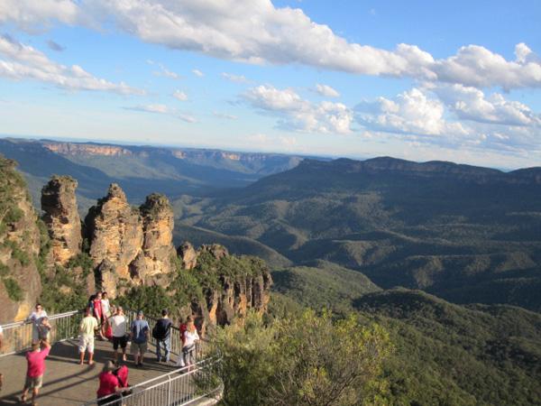 Австралия. Голубые горы (Blue Mountains).  Фото: Евгений Добрыгин