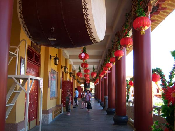 Австралия.  Буддийский храм Нань Дянь в Анандерре.  Фото: Евгений Добрыгин