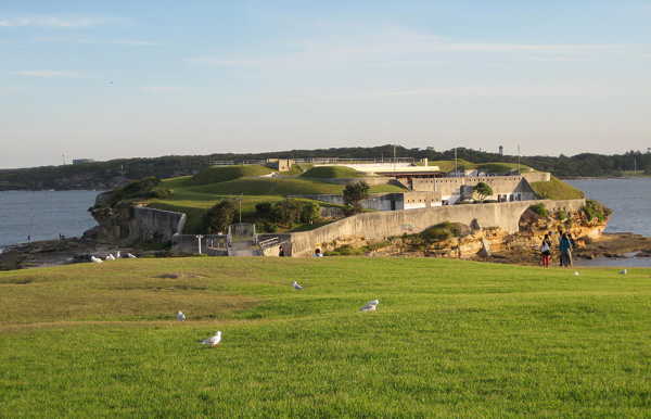 Австралия. Старинный форт.  Фото: Евгений Добрыгин