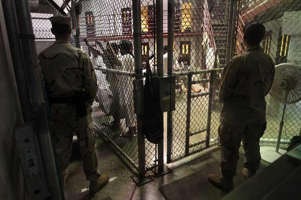 Гуантанамо (Куба). Тюрьма продолжает быть действующей спустя год после заявления Обамы об её закрытии. Фото:  John Moore /Getty Images