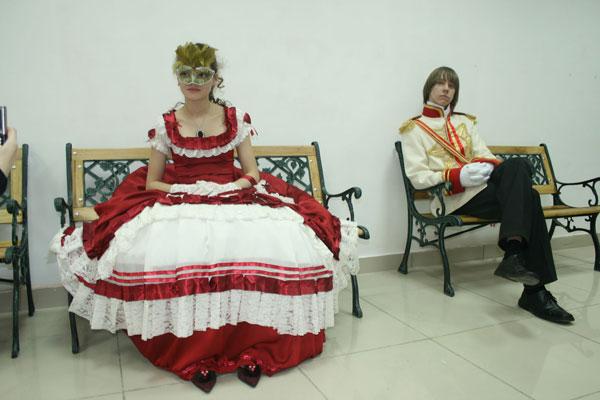 Первый бал-маскарад в Омске.  Фото:  Михаил Ильин/Великая Эпоха/The Epoch Times