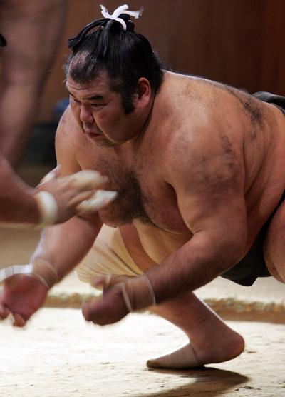 Сумо. Проведение мастер-класса для поклонников борьбы сумо.  Фото: Junko Kimura/Getty Images