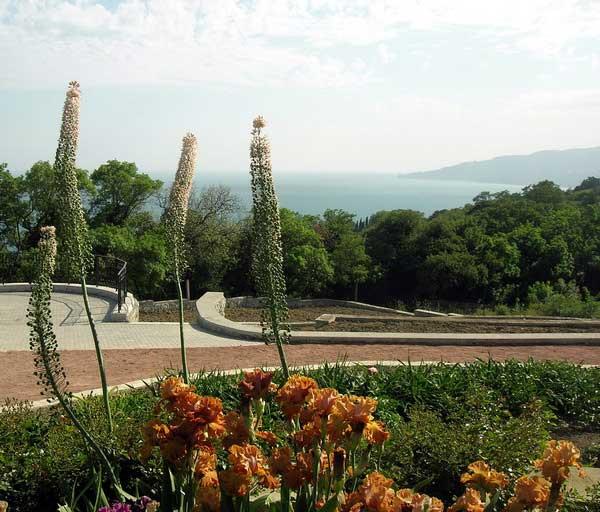 Коллекция ирисов в Никитском ботаническом саду. Крым. Фото: Алла Лавриненко/Великая Эпоха