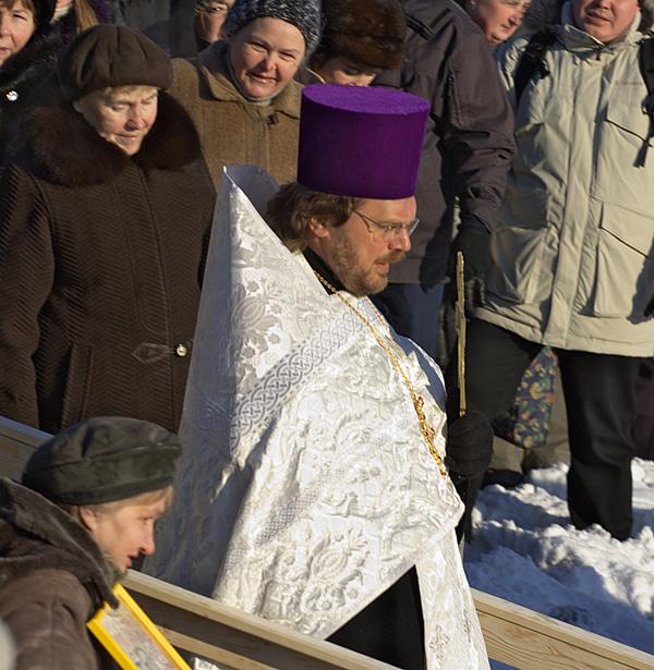 Во время православного праздника Крещение господне.Фото: Лора Ларсиа/Великая Эпоха/The Epoch Times
