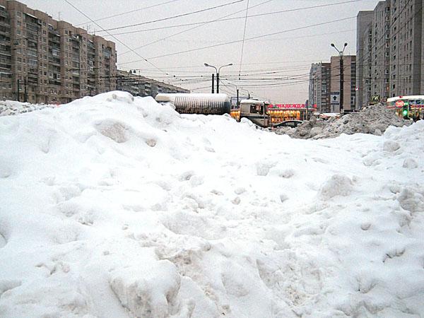 Санкт-Петербург в пору настоящей снежной зимы.Фото: Лариса ДЕМЧЕНКО/ Великая Эпоха (The Epoch Times)