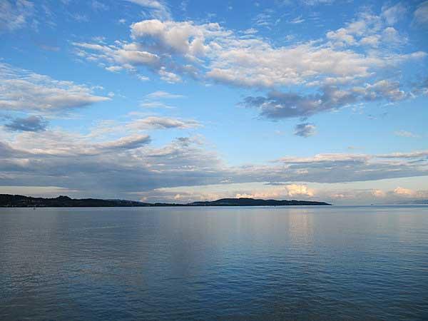 Вечерняя романтика Боденского озера. Фото: Екатерина Кравцова/Великая Эпоха