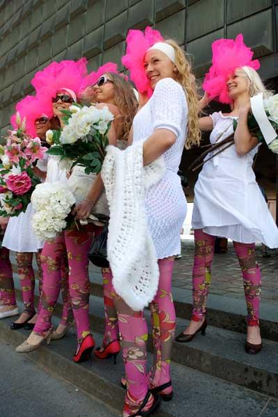Блондинки Латвии. Рига. Фото: ILMARS ZNOTINS/AFP/Getty Images