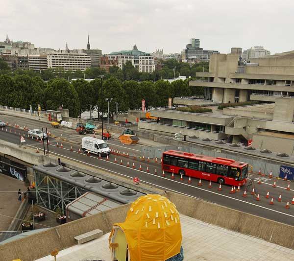 Вид с крыши Галлереи Hayward, Лондон. Фото: Peter Macdiarmid/Getty Images