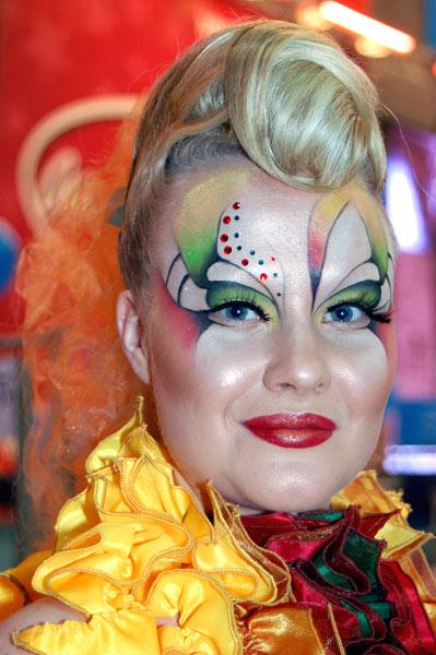 Конкурс фантазийный макияж