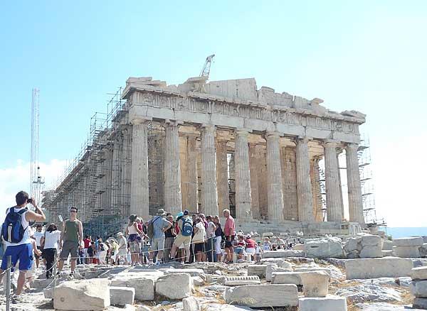 Храм Парфенон Афинского Акрополя. Фото: Елена Захарова/Великая Эпоха