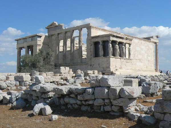 Храм богини победы Ники, кариатиды. Фото: Елена Захарова/Великая Эпоха