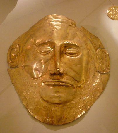 Маска Агамемнона в Микенах. Фото: Елена Захарова/Великая Эпоха