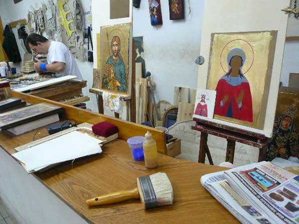 Мастерская иконописи. Фото: Елена Захарова/Великая Эпоха