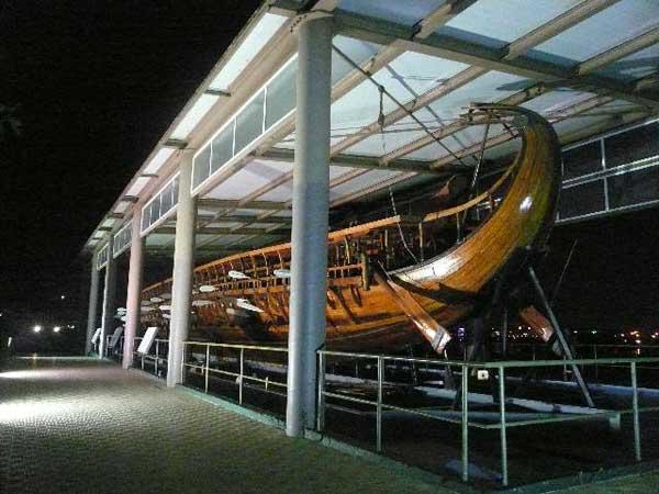 Корабль древних греков. Фото: Елена Захарова/Великая Эпоха