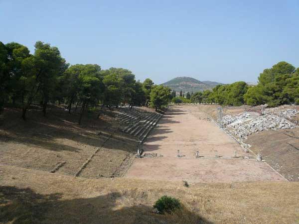 Древнегреческий стадион. Фото: Елена Захарова/Великая Эпоха