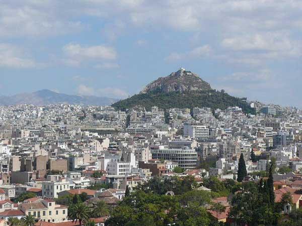 Вид на Афины с Акрополя. Фото: Елена Захарова/Великая Эпоха