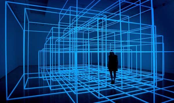 Инсталляция «Вибрирующая комната III». Фото: Chris Jackson/Getty Images