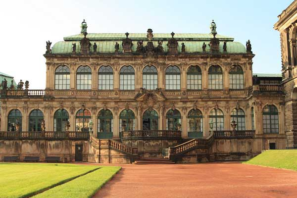 Цвингер в Дрездене. Фото: Сима Петрова/Великая Эпоха