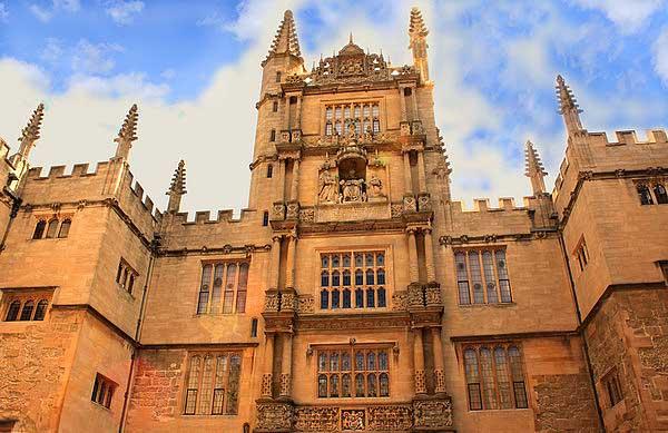 Оксфорд. Библиотека.  Фото: Ирина Рудская/Великая Эпоха