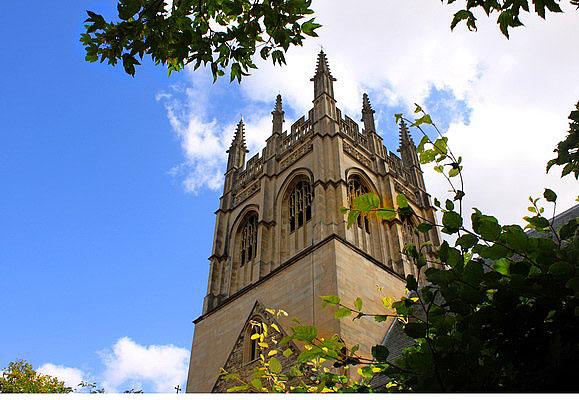 Оксфорд. Башня Магдален-колледжа. Фото: Ирина Рудская/Великая Эпоха