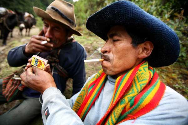 Местные жители в Андах (Перу). Фото: Brendon Thorne/Getty Images