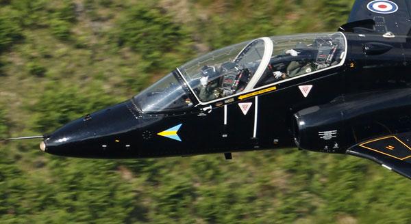 Реактивный самолет «Ястреб». Фото: Christopher Furlong/Getty Images
