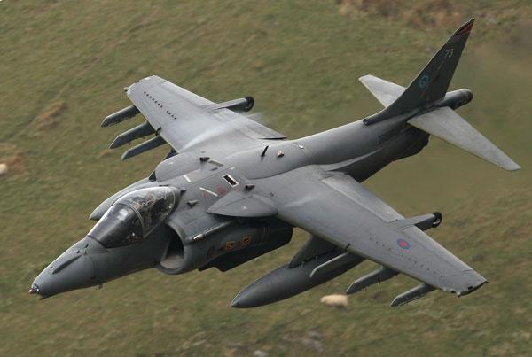 Британский истребитель-бомбардировщик «Харриер». Фото: Christopher Furlong/Getty Images