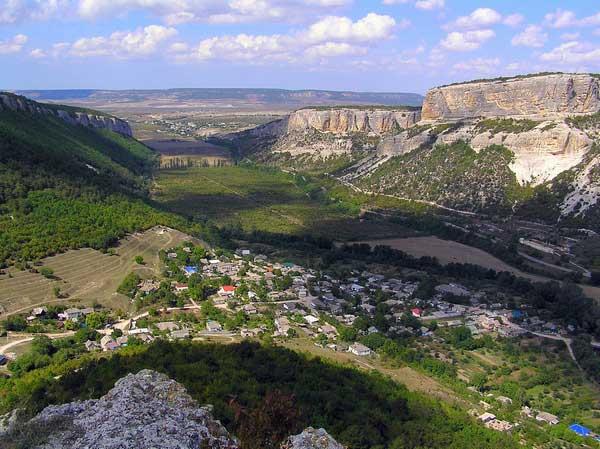 Панорама Бельбекской долины. Крепость Сюйрень. Фото: Станислав Лавриненко/ Великая Эпоха