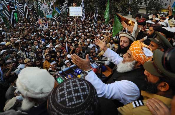 Митинг в Пакистане. Фото: Arif Ali/AFP/Getty Images