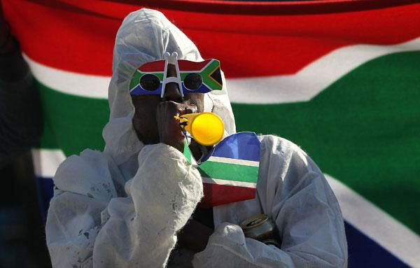 ЮАР в ожидании начала Чемпионата мира по футболу.  Фото: John Moore/Getty Images