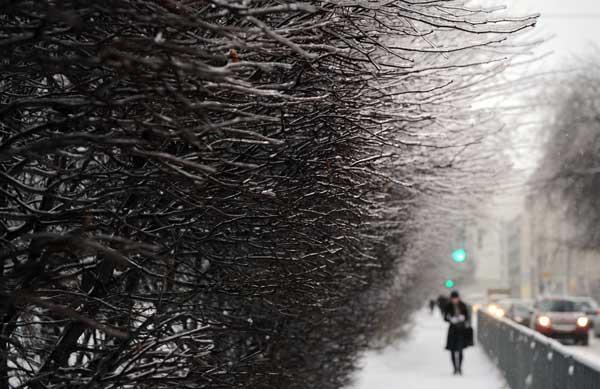 Зимние мотивы. Фото: DMITRY KOSTYUKO/Getty Images
