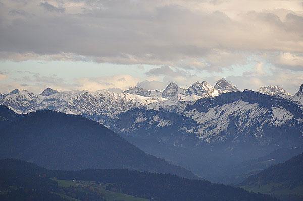 Австрия. Вид с горы Пфандер. Фото: Екатерина Кравцова/Великая Эпоха