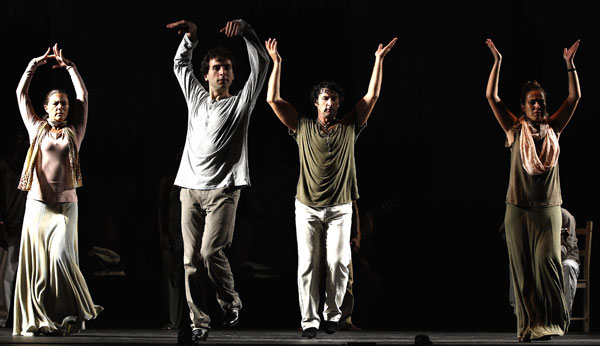 Выразительный танец фламенко. Фото: Jeff J Mitchell/Getty Images