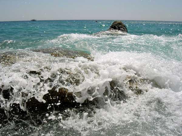 Море, небо и горы. Фото: Алла Лавриненко/Великая Эпоха