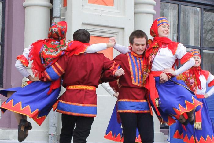 Выступление танцевального коллектива «Этнос». Фото: Николай Карпов/Великая Эпоха (The Epoch Times)