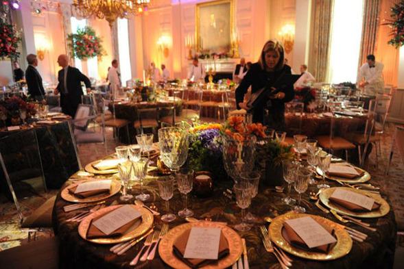 Банкетный зал Белого  дома. Фото с kanzhongguo.com