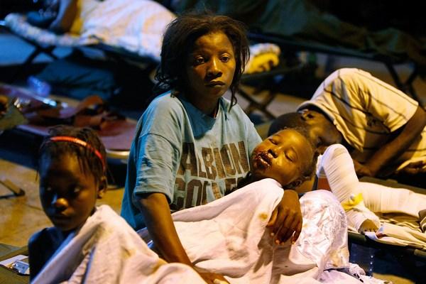 Землетрясение на Гаити. Фото: Joe Raedle/Getty Images