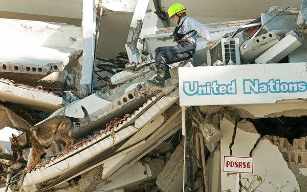 Землетрясение на Гаити — одно из самых страшных в мировой истории. Фото: PAUL J. RICHARDS/AFP/Getty Images