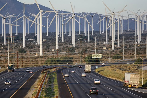 Место  возможного землетрясения в 2037 году. Сан Анреас, Калифорния.  Фото: David McNew/Getty Images