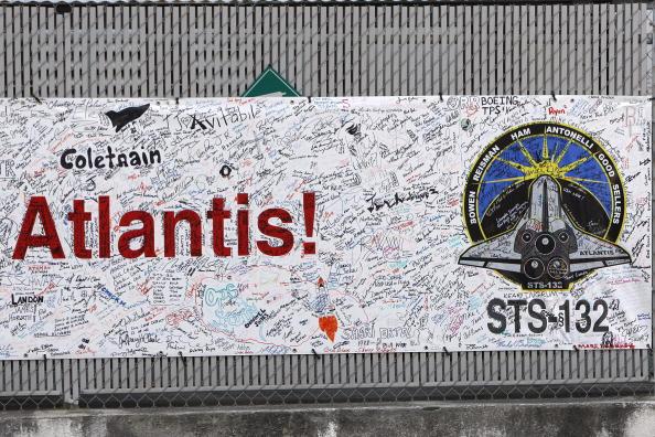 «Атлантис» успешно стартовал с космодрома Кеннеди на мысе Канаверал. Фоторепортаж. Фото: Eliot J. Schechter/Getty Images
