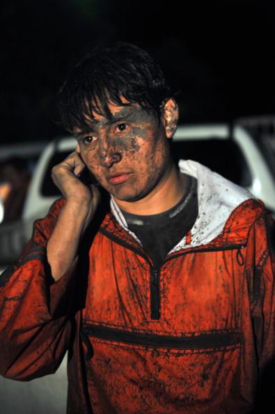 Активизировались вулканы в Эквадоре и Гватемале. Тысячи человек были вынуждены покинуть свои дома. JOHAN ORDONEZ/AFP/Getty Images