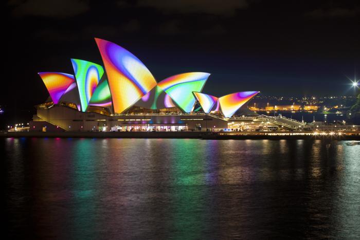 Фестиваль огней Vivid Sydney в Австралии. Фото: Mark Metcalfe/Getty Images