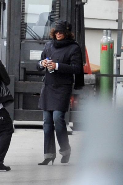 Уитни Хьстон (Whitney Houston) прибыла в Берлин. Фото: Toni Passig/Getty Images