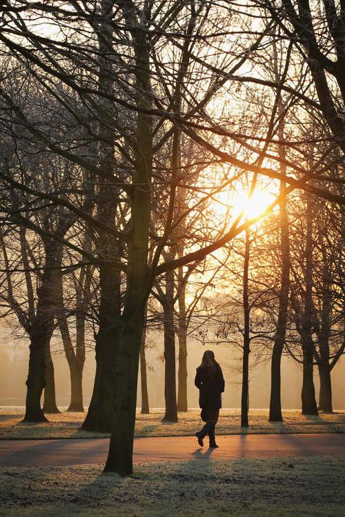 Зимние пейзажи Англии. Часть 1. Фото: Matt Cardy/Getty Images
