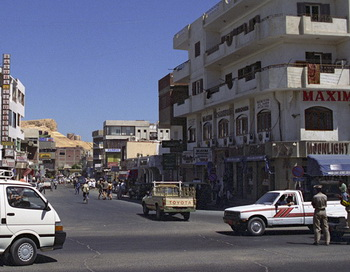 Курортный город Хургада в Египте. Фото РИА Новости