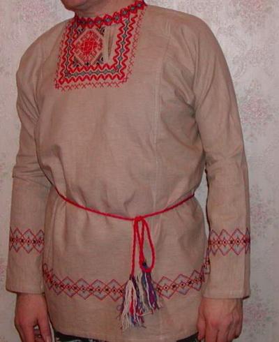 Традиционные русские наряды. Фото:  kosovorotki.narod.ru