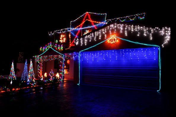 Рождественские огни освещают Сидней. Фотообзор. Фото: Lisa Maree Williams, Jeremy Ng/Getty Images