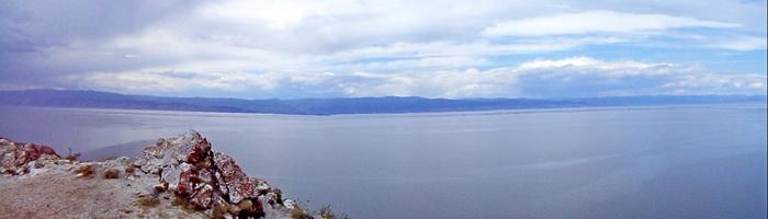 Панорама Байкала с мыса Саган-Хушун. Фото: Ольга Судникович/Великая Эпоха (The Epoch Times)